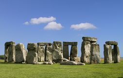 The Stonehenge. The famous and mysterious Stonehenge in England Royalty Free Stock Photo
