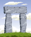 Stonehenge stock de ilustración
