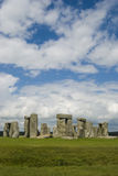 Stonehenge. A beautiful sky helps to highlight the ancient Stonehenge Monument Royalty Free Stock Images