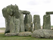 Stonehenge. The greatest standing stone circle in England, estimated at 3100 BC Royalty Free Stock Photography