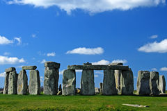 Stonehenge. A world heritage site in Wiltshire UK Royalty Free Stock Images