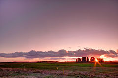 Stonehenge. An ancient monument in the Wiltshire countryside England Stock Photography