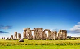 英国stonehenge 库存照片
