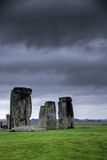 Stonehenge. A mysterious ancient stone construction in Britain royalty free stock image