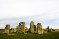 Stonehenge στην Αγγλία Στοκ εικόνα με δικαίωμα ελεύθερης χρήσης