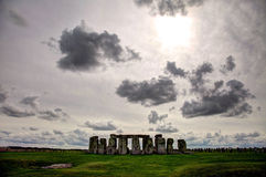 Stonehenge. An ancient monument in the heart of England UK royalty free stock photo