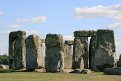 Stonehenge. In Salisbury Plain England royalty free stock photos