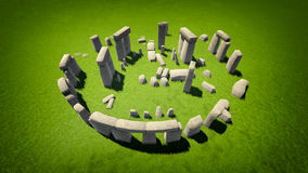 Stonehenge illustrazione di stock