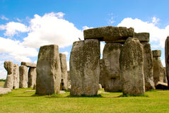 Stonehenge. Is a prehistoric monument in Wiltshire, England, west of Amesbury and north of Salisbury royalty free stock image