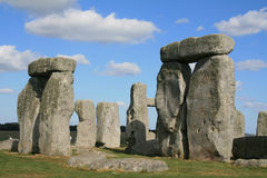 Stonehenge. The ancient Stonehenge monument in Amesbury Wiltshire England Royalty Free Stock Photo