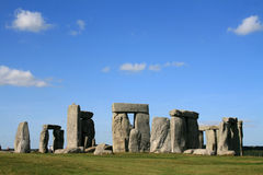 Stonehenge. Ancient  monument Stonehenge near Amesbury in Wiltshire England Royalty Free Stock Photo