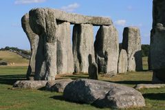 Stonehenge. Ancient  monument Stonehenge near Amesbury in Wiltshire England Royalty Free Stock Image