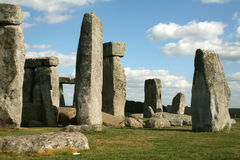 Stonehenge. Ancient  monument Stonehenge near Amesbury in Wiltshire England Royalty Free Stock Photography