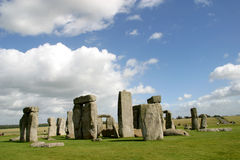 Stonehenge. A world heritage site in Wiltshire (England stock photography