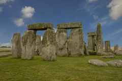 Stonehenge. Surreal looking version of Stonehenge Stock Photos