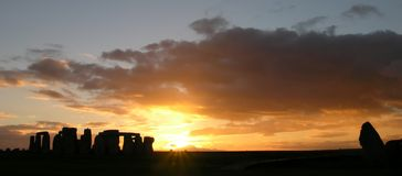 stonehenge 6 Obraz Stock