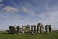 Stonehenge. The world heritage site of Stonehenge in England. It is believed the stones were erected around 2200 BC Stock Images