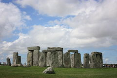 Stonehenge. A world heritage site in England Stock Images