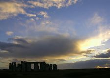 Stonehenge 9 Fotografie Stock Libere da Diritti