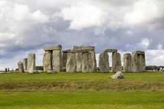 Free Stonehenge A Ring Of Standing Stones, Is A Prehistoric Monument In Wiltshire, England, Royalty Free Stock Photography - 206777107