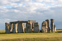 Stonehenge. In afternoon sun. Prehistoric monument in Wiltshire, England royalty free stock image