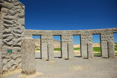 Stonehenge America. Stonehenge replica monument, Washington state, USA royalty free stock photos