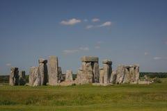 Stonehenge. Ancient druid monument near Salisbery Stock Images