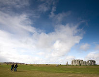 Stonehenge ancient monument, Wiltshire, UK Stock Image