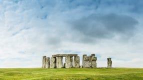 Stonehenge. An ancient prehistoric stone monument near Salisbury royalty free stock photos