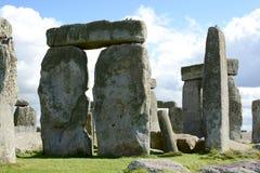 Stonehenge. An ancient prehistoric stone monument near Salisbury, Wiltshire, UK stock image