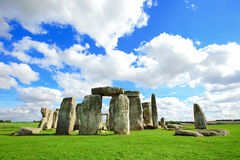 Stonehenge. An ancient prehistoric stone monument near Salisbury, Wiltshire, UK. in England Royalty Free Stock Photography