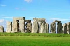Stonehenge. An ancient prehistoric stone monument near Salisbury, Wiltshire, UK. in England royalty free stock image