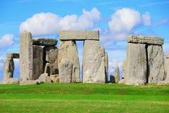 Stonehenge. An ancient prehistoric stone monument near Salisbury, Wiltshire, UK. in England stock photography