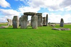 Stonehenge. An ancient prehistoric stone monument near Salisbury, Wiltshire, UK. in England stock photos