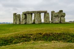 Stonehenge an ancient prehistoric stone monument, United Kingdom, Europe. Stonehenge an ancient prehistoric stone monument near Salisbury, Wiltshire, UK. in stock images