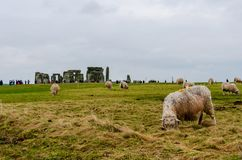 Stonehenge an ancient prehistoric stone monument, United Kingdom, Europe. Stonehenge an ancient prehistoric stone monument near Salisbury, Wiltshire, UK. in stock photos