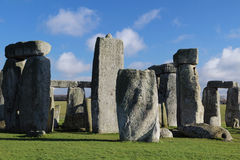 Stonehenge, Angleterre Photos libres de droits