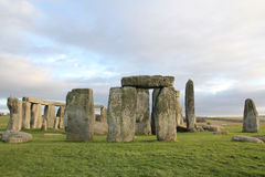 Stonehenge, Angleterre LE R-U Photo stock