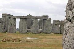 Stonehenge antigo e Salisbúria medieval fotografia de stock