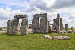 Stonehenge antigo, Reino Unido foto de stock