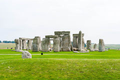 Stonehenge antiguo Imágenes de archivo libres de regalías