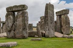 Stonehenge arkeologisk plats England Arkivbild