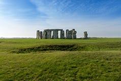 Stonehenge au WILTSHIRE R-U Photos stock