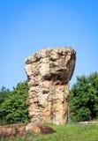 Stonehenge av Thailand, Mor Hin Khao på det thailändska Chaiyaphum landskapet Arkivfoton