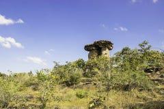 Stonehenge av Ubon, Thailand Arkivfoton
