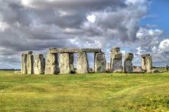 Stonehenge. Beautiful Stonehenge Great Britain Heritage HDR stock photography