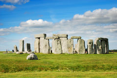 Stonehenge with Blue Sky Royalty Free Stock Image