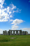 Stonehenge with Blue Sky Royalty Free Stock Images