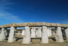 StoneHenge Circle royalty free stock photo