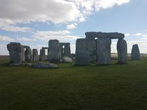 Stonehenge circle an historic monument royalty free stock photos